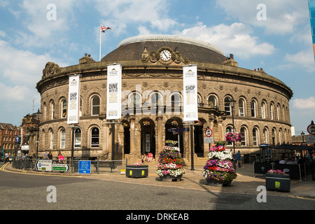 Leeds Corn Exchange building - Stock Image