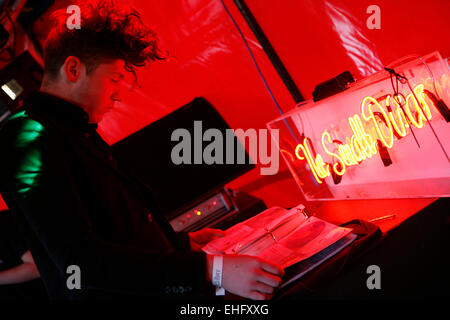 Matthew WOWOW at Field Day festival in Victoria Park London. - Stock Image