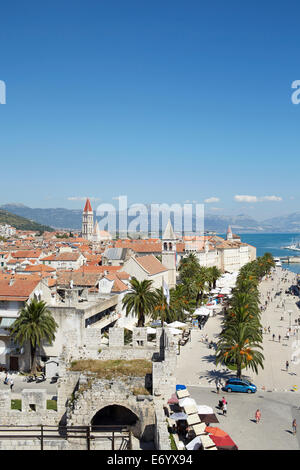 Trogir, Croatia. Old Town - Stock Image