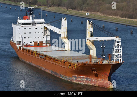 General Cargo Ship Nunalik - Stock Image