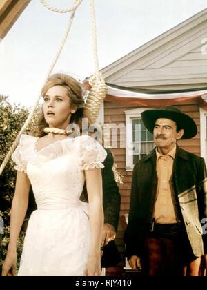 CAT BALLOU 1965 Columbia Pictures film with Jane Fonda - Stock Image
