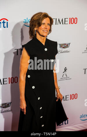 Jeanne Gang attends TIME 100 GALA on April 23 in New York City - Stock Image