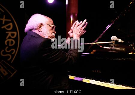 Barry Harris, Pizza Express, Dean St, London, Dec 2005.  Artist: Brian O'Connor. - Stock Image