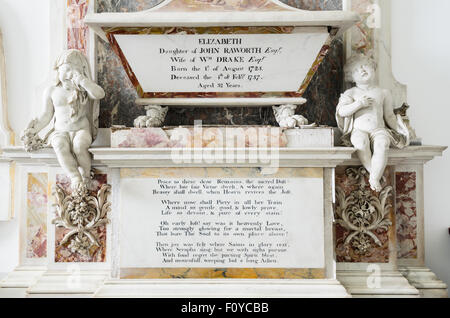 The Drake Chapel in St Mary's, Old Amersham, Buckinghamshire, England, UK. - Stock Image
