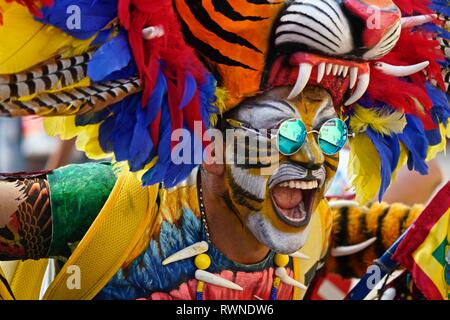 Dancers of the Carnaval - Stock Image