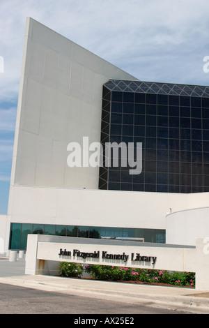 JFK Library Boston Massachusetts - Stock Image