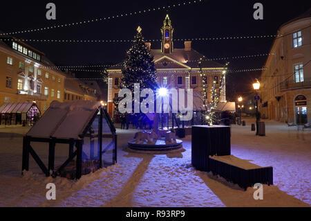 Tartu Christmas Market 2018 - Stock Image