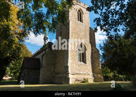 St Michaels's Church, Church Ln, Abington Pigotts, Royston SG8 0SH, Cambridgeshire, UK - Stock Image