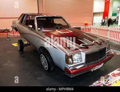 A Buick Low Rider, on display in the 'Big Zone', of the 2018  London Motor Show - Stock Image