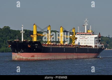 Bulgarian bulkcarrier Vola - Stock Image