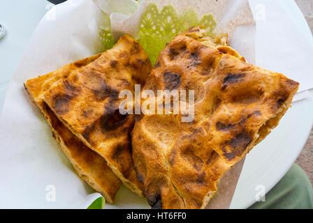 Tafarnout, berber bread, Sidi Ifni, Guelmim-Oued region, Morocco - Stock Image