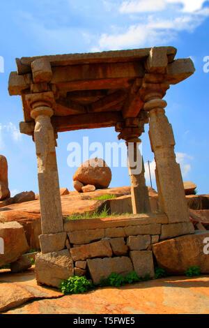hampi vijaynagar - Stock Image