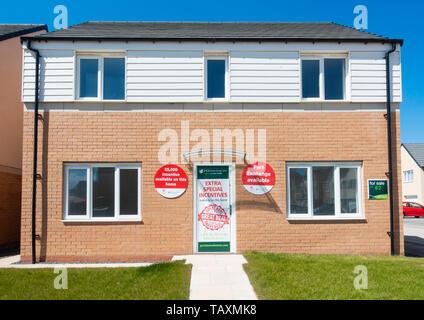 Persimmon Homes new housing development. UK - Stock Image