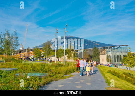 Zaryadye Park, Moscow, Russia - Stock Image