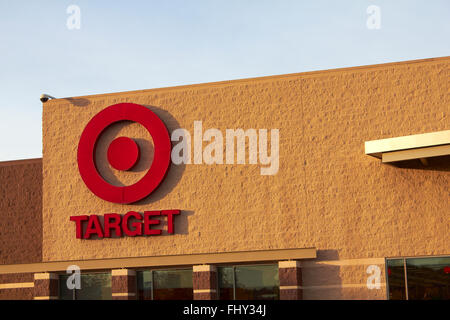 Target Store Front - Stock Image