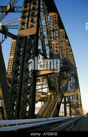 Australia New South Wales Sydney Harbour Bridge - Stock Image