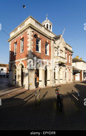 Christchurch  Dorset England UK The Mayor's Parlour and Saxon Square - Stock Image