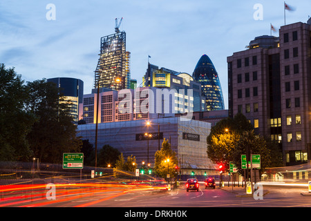 Buildings the City, London - Stock Image