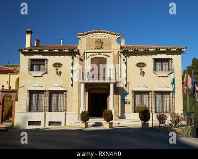 Hotel La Posada del Conde. El Chorro, Málaga province, Spain - Stock Image