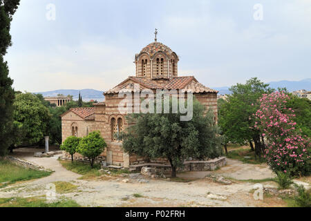 Church of the Holy Apostles, Ancient Agora of Athens - Stock Image