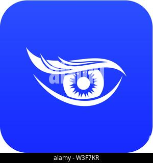 Eyesight icon, simple style - Stock Image