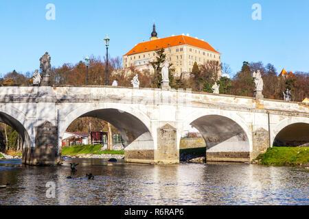 Námest Nad Oslavou, Moravia, Czech republic - Stock Image