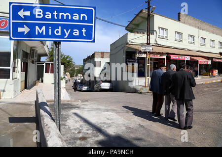 City of Hasankeyf , Turkey (streets, houses and architecture) - Stock Image