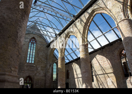 Ruins of Broere Church, Bolsward, Fryslan, Netherlands - Stock Image