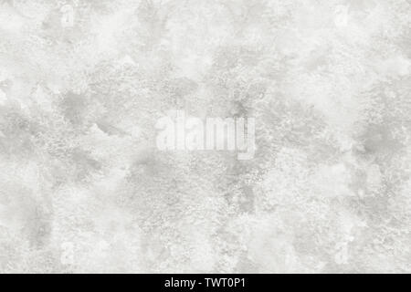 Marble color white abstract or grunge watercolor paint texture background - Stock Image