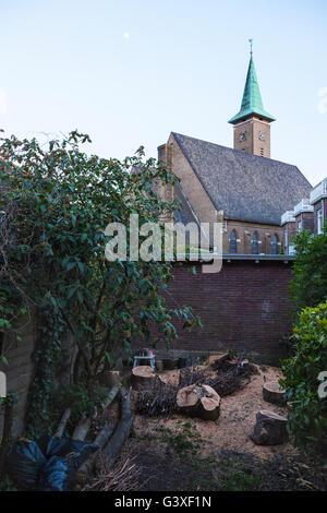 Oranjekerk church, Kleiweg, Rotterdam - Stock Image
