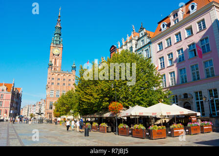 Dlugi Targ, Gdansk, Poland - Stock Image
