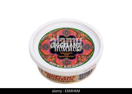 Trader Joe's Eggplant Hummus - Stock Image