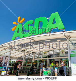 Asda supermarket, UK. - Stock Image
