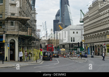 London daily routine - Stock Image