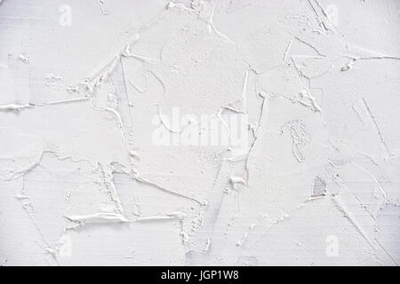 White texture of wood covered with filler - Stock Image