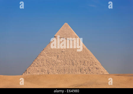 Pyramids, Giza, Egypt - Stock Image