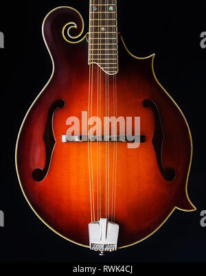Close-up of a mandolin - Stock Image