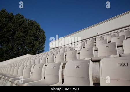 audience place in China village - Stock Image