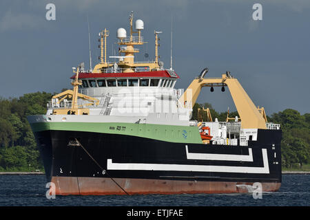 Fishtrawler Mark (ROS 777) - Stock Image