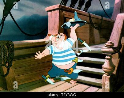 MR SMEE, PETER PAN, 1953 - Stock Image