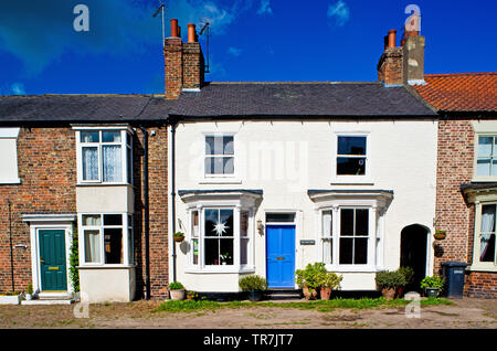 The Old Shop, Helperby, North Yorkshire, England - Stock Image