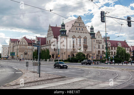 Poznan Imperial Castle Historical Building - Stock Image