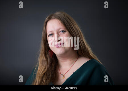 Poet, writer and creative writing teacher Claire Askew. - Stock Image