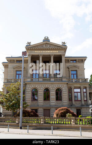 Villa Clementine in Wiesbaden, the state capital of Hesse, Germany. - Stock Image