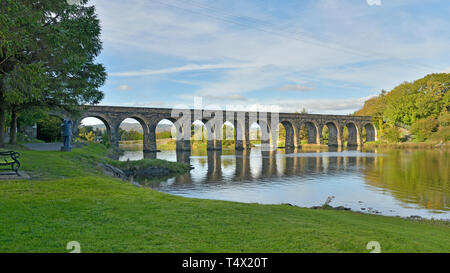 Ballydehob Twelve Arch Viaduct - Stock Image