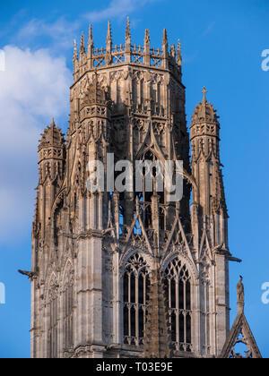 L'église abbatiale Saint-Ouen (Church of St. Ouen), Rouen, Normandy, France - Stock Image
