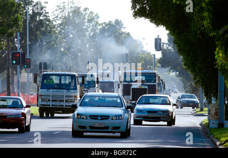 Congested traffic - Stock Image