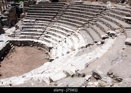 The Odeon amphitheater at Ephesus, Turke - Stock Image