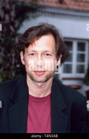 Stephan Schwartz, deutscher Film- und Fernsehschauspieler, Deutschland 1992. German movie and TV actor Stephan Schwartz, Germany 1992. - Stock Image