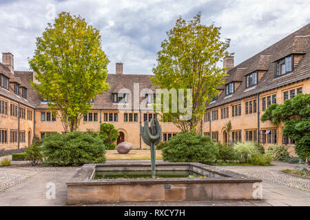 UK Oxford Nuffield College - Stock Image